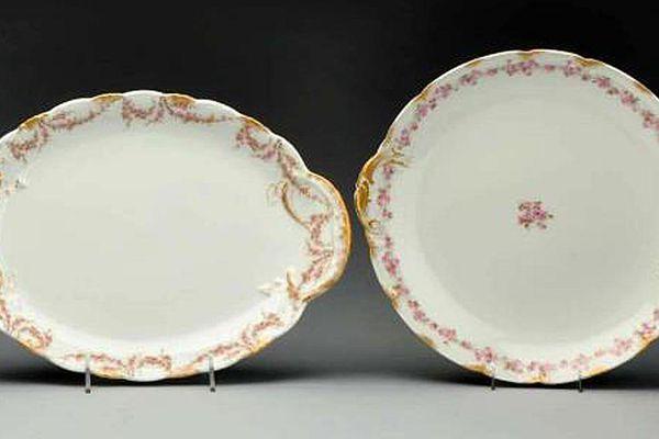 Haviland Limoges china platters
