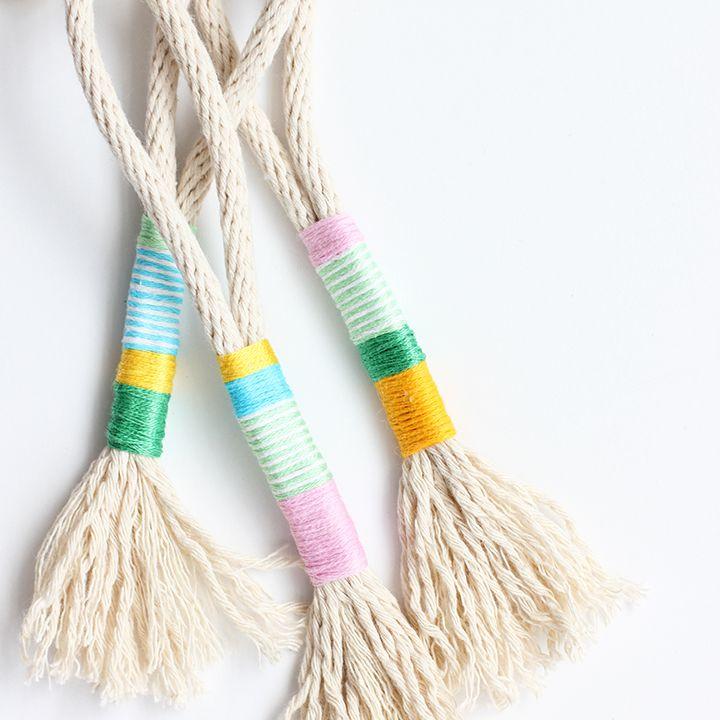 Rope Tassel Keychain