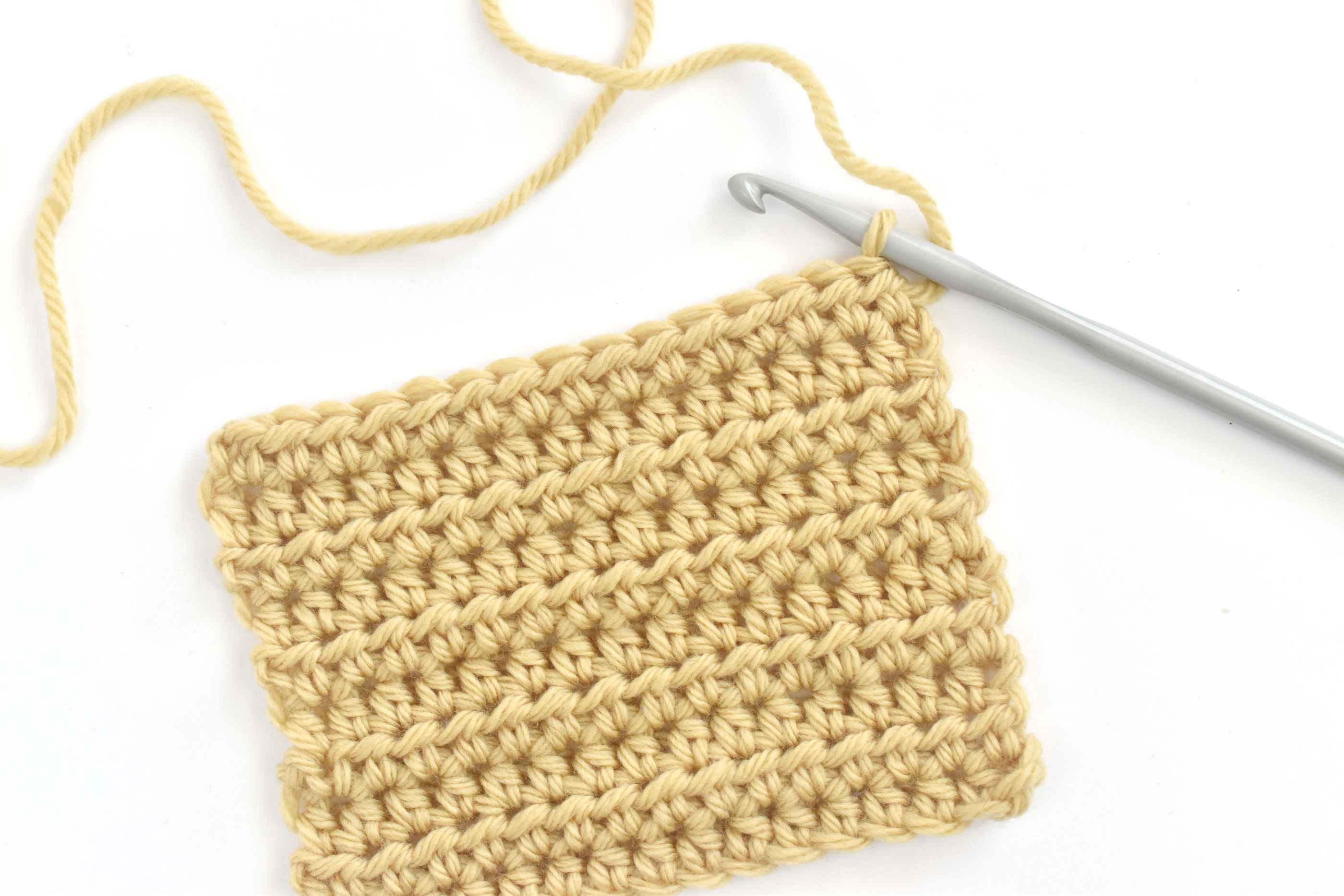 Learn How to Work the Half Double Crochet Stitch