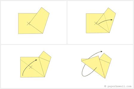 Easy Origami Star Tutorial
