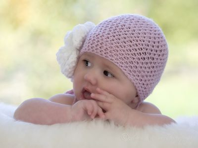 56d0012c89f This Easy Crochet Baby Hat Pattern is Perfect for Beginners