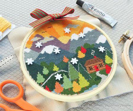 60 Winter Cross Stitch Patterns Simple Stitch Patterns