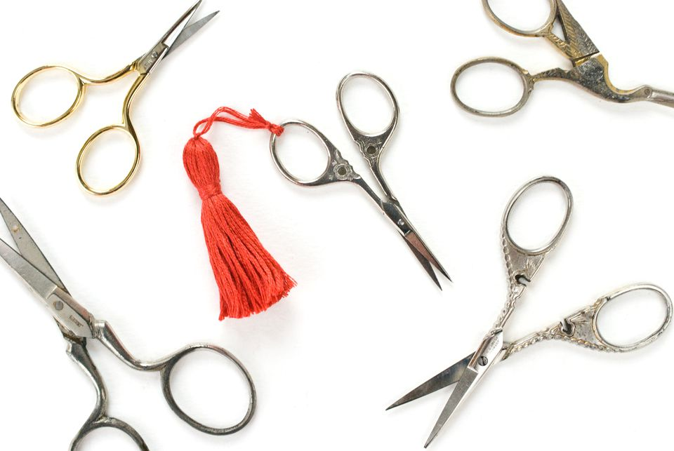 DIY Tassel Scissor Charm