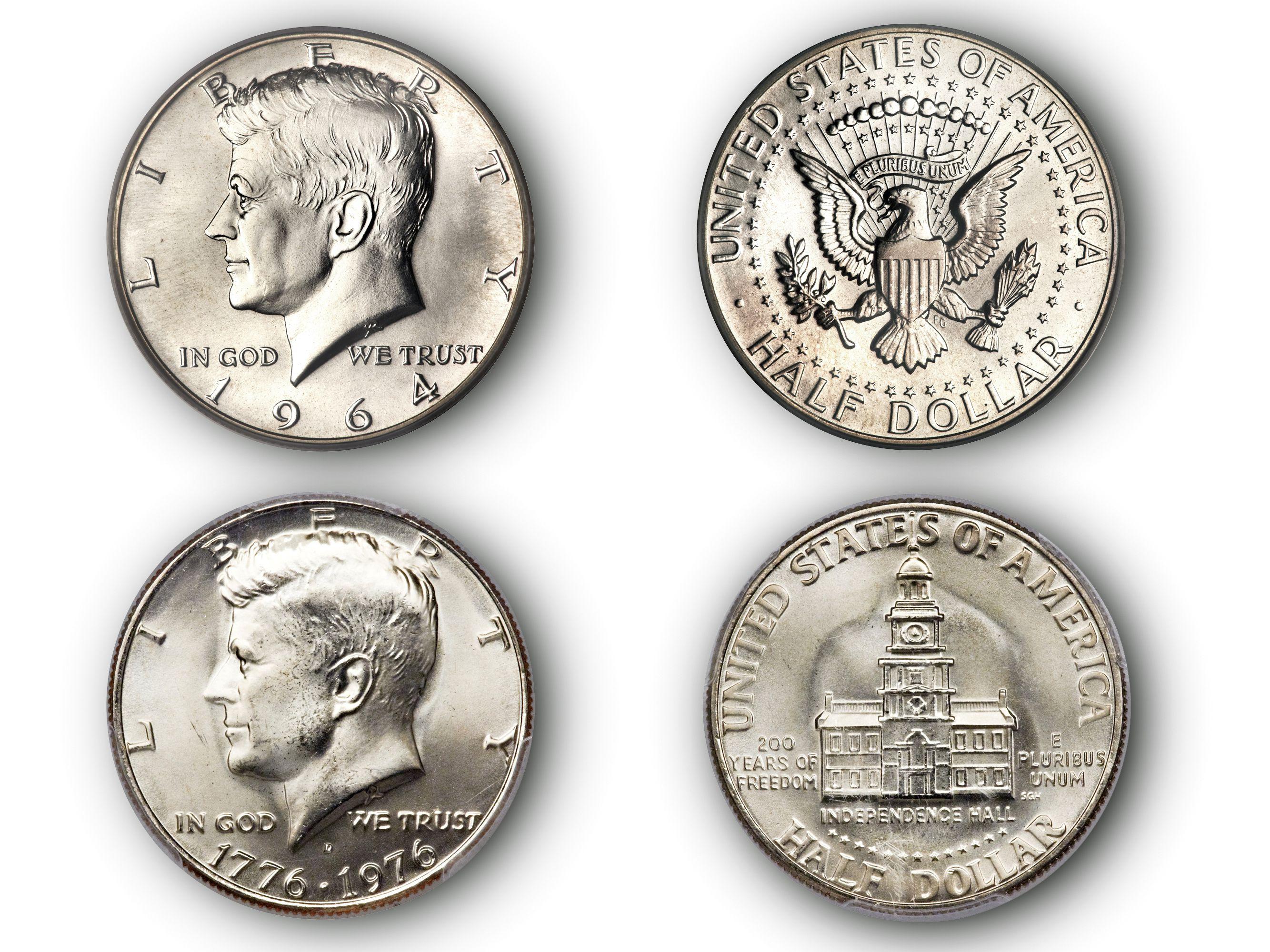 Kennedy Half Dollar Mintages (1964-Date)