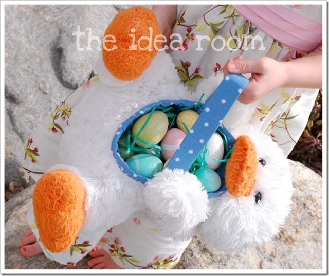 24 easter basket ideas we love clever easter basket ideas negle Choice Image