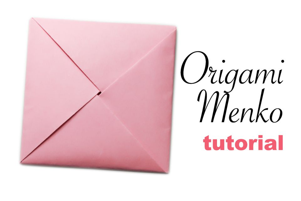 Origami Menko Pouch Tutorial