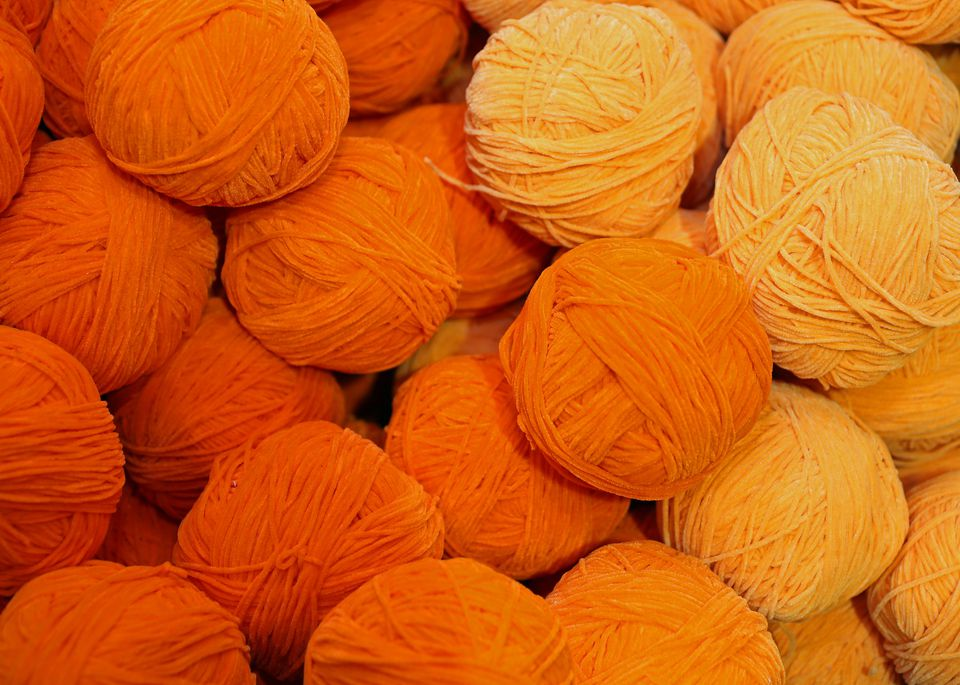 soft wool for sale balls in wool and fabric store