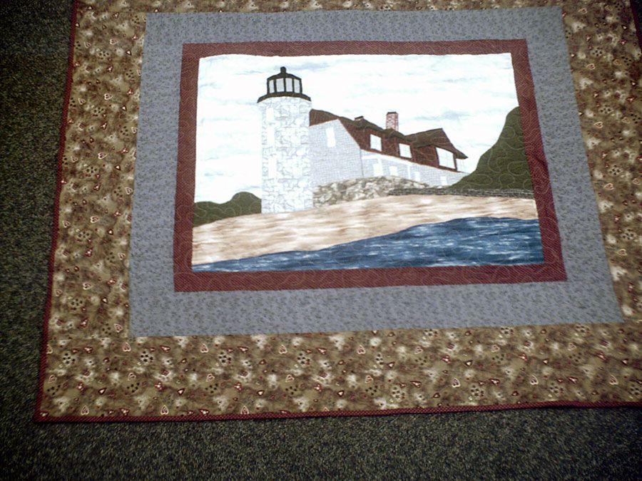 Pointe Betsie Light House Quilt