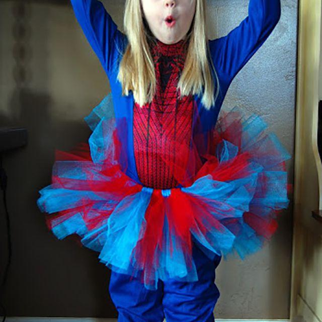 handmade spiderman costume