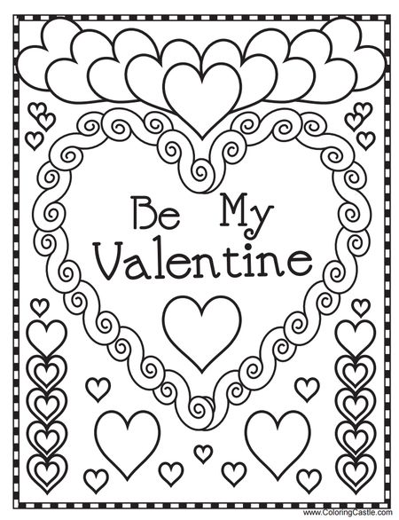 exelent valentine coloring page vignette coloring pages for adults