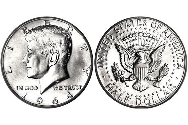 Kennedy Half Dollar Example Obverse and Reverse