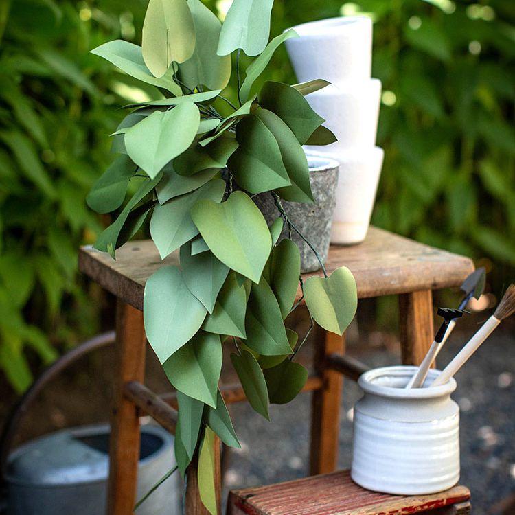 paper house plant tutorial