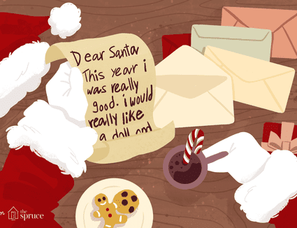 illustration of free letter to santa template