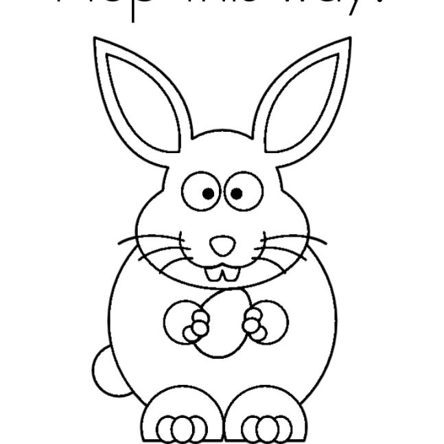 9 Places for Free Bunny Coloring Pages