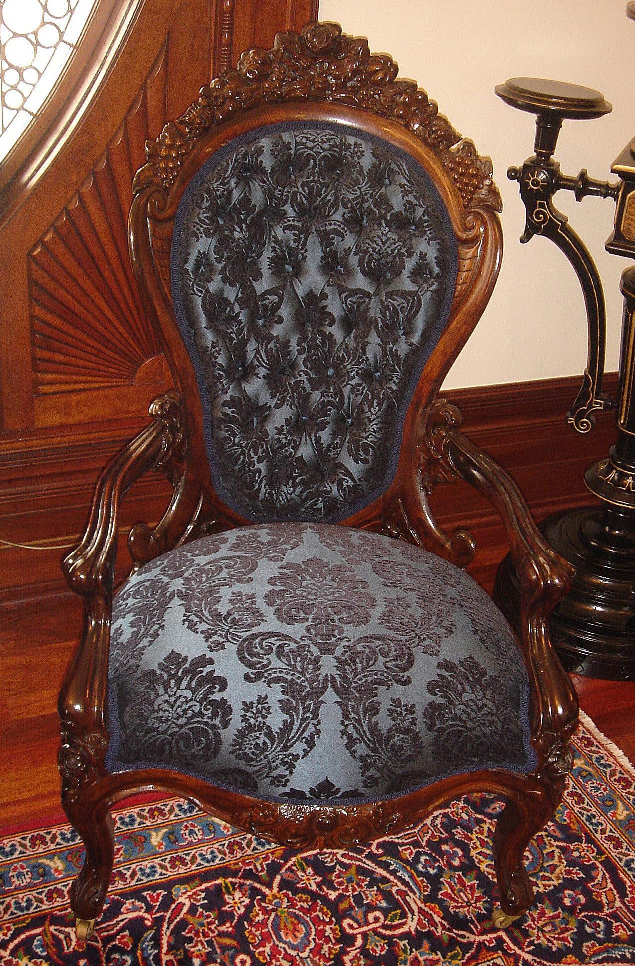 John Henry Belter Rococo Revival Furniture Master