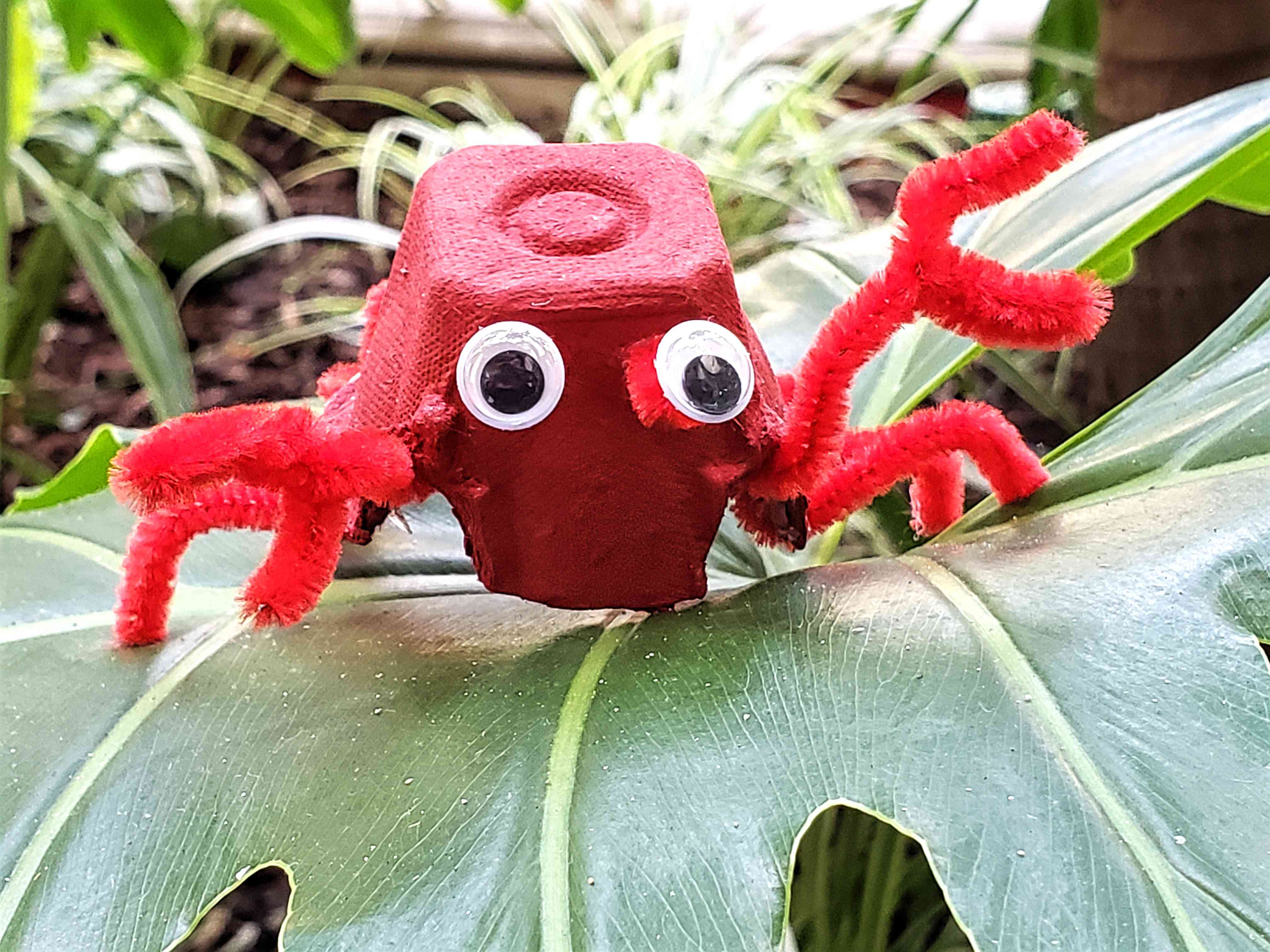 Crab Craft finished