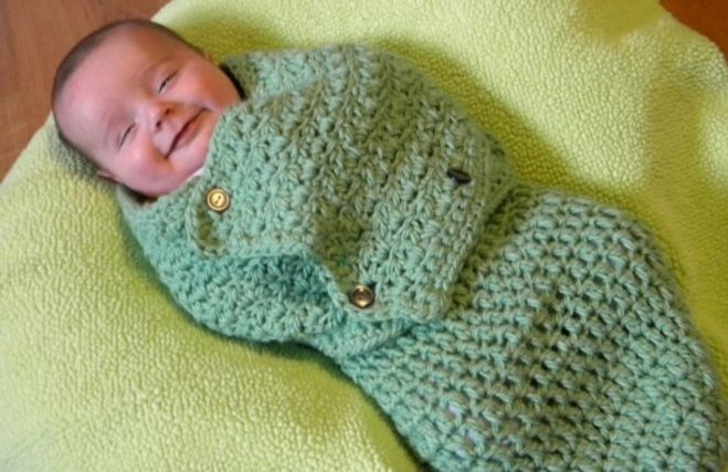 14 Adorable Crochet Cocoon Patterns For Babies