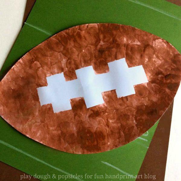 fingerprint football craft