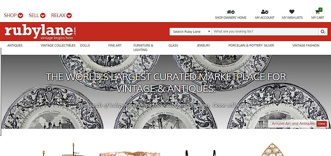 Sell Online - Where To Sell Your Antiques And Collectibles