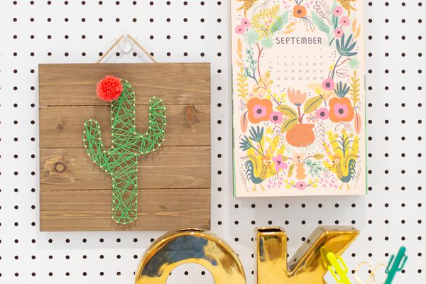 This Cute Cactus String Art Could be the Perfect DIY Edition to Your Home