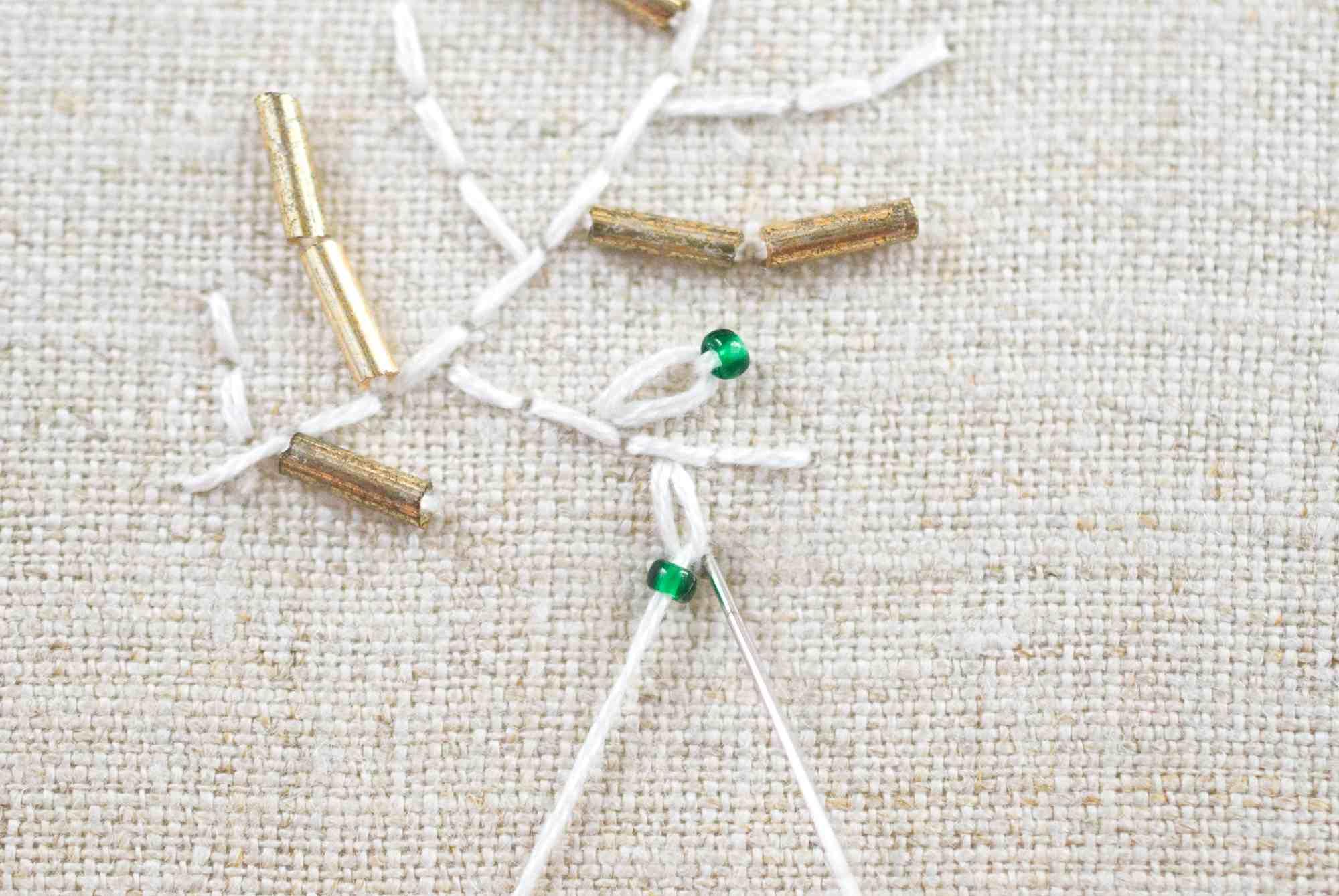 Add Tiny Beads to Any Stitch