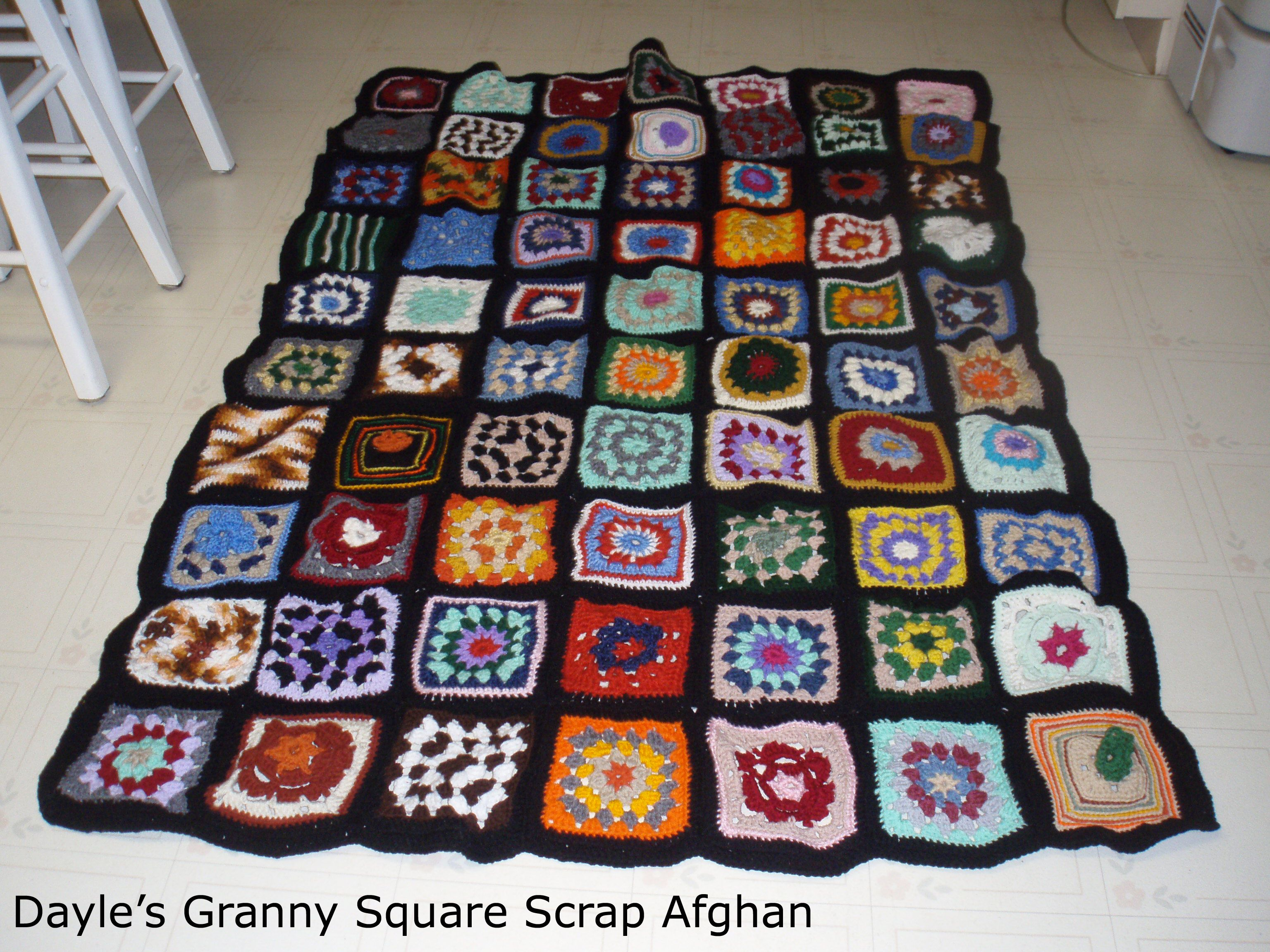 Granny Square Afghan Pattern Magnificent Decorating