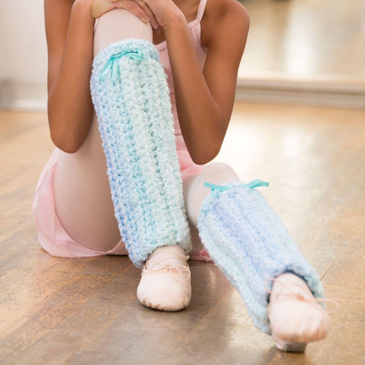 Perfect Pointe Leg Warmers Crochet Pattern