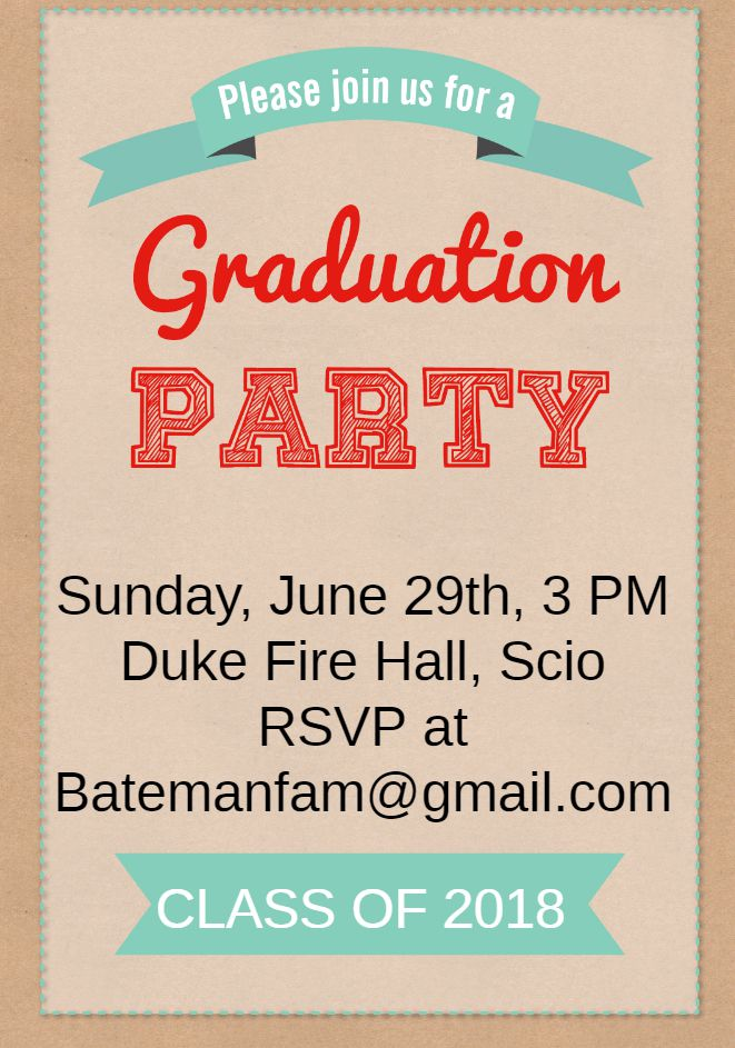 19 free printable graduation invitations templates
