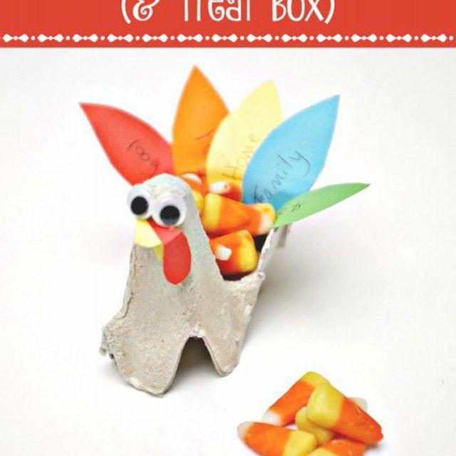 Thankful Turkey & Treat Box