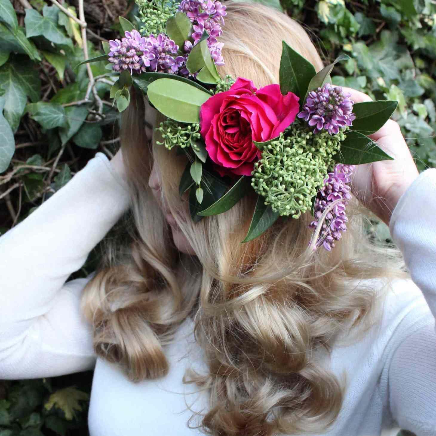 Rose Floer Crown