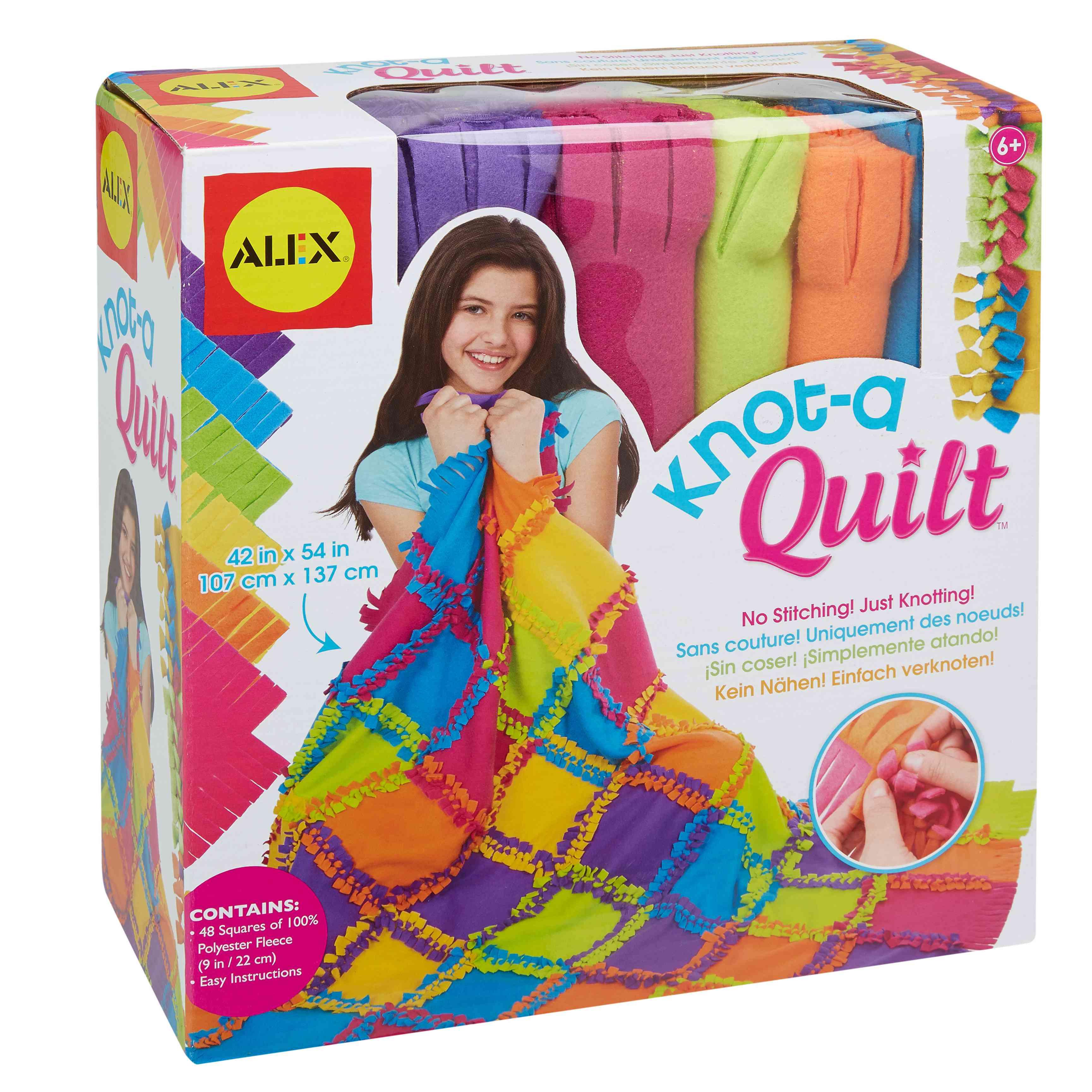 Alex Toys- Knot a Quilt
