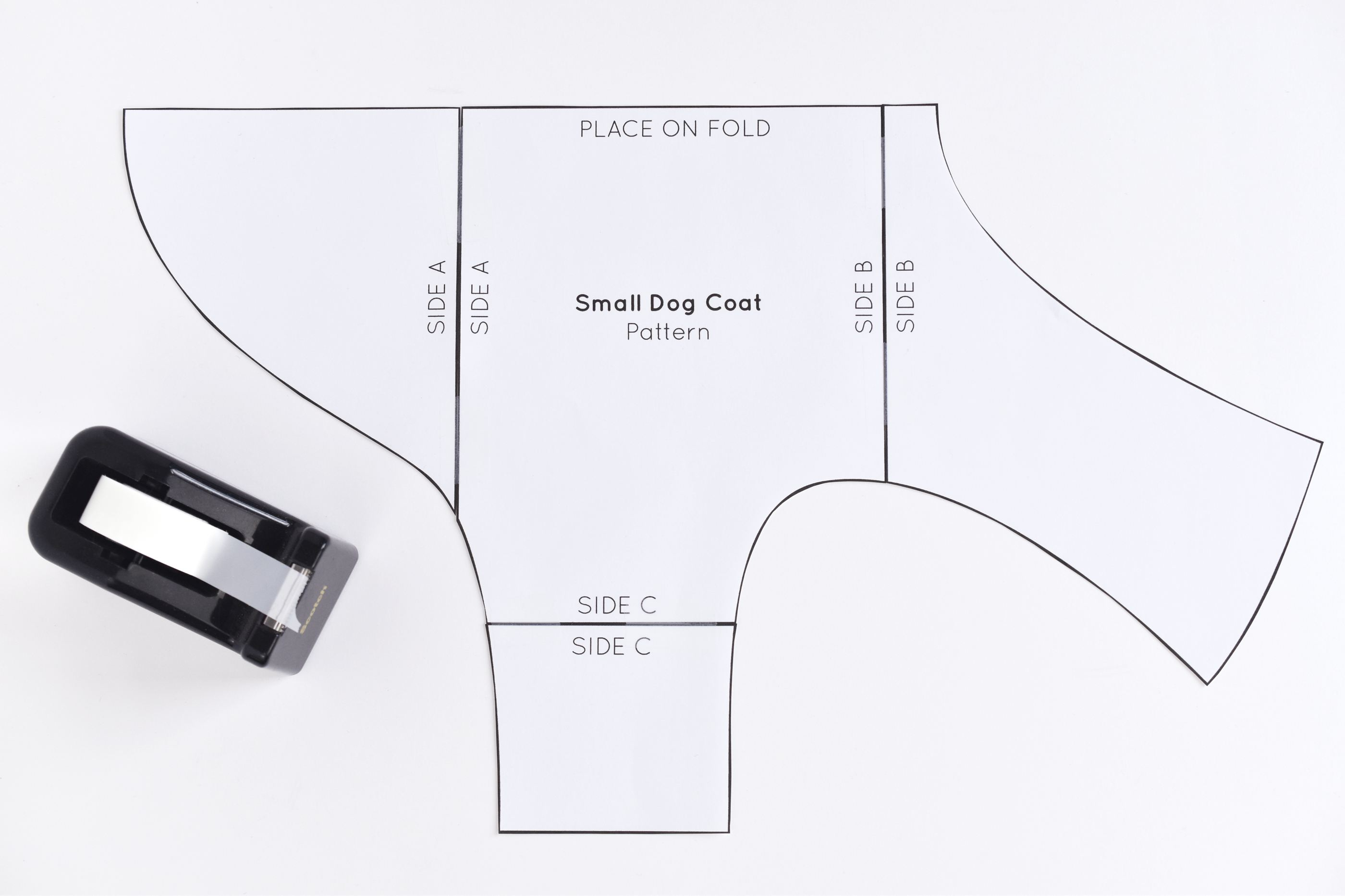 Free Sewing Pattern For A Warm Weatherproof Dog Coat