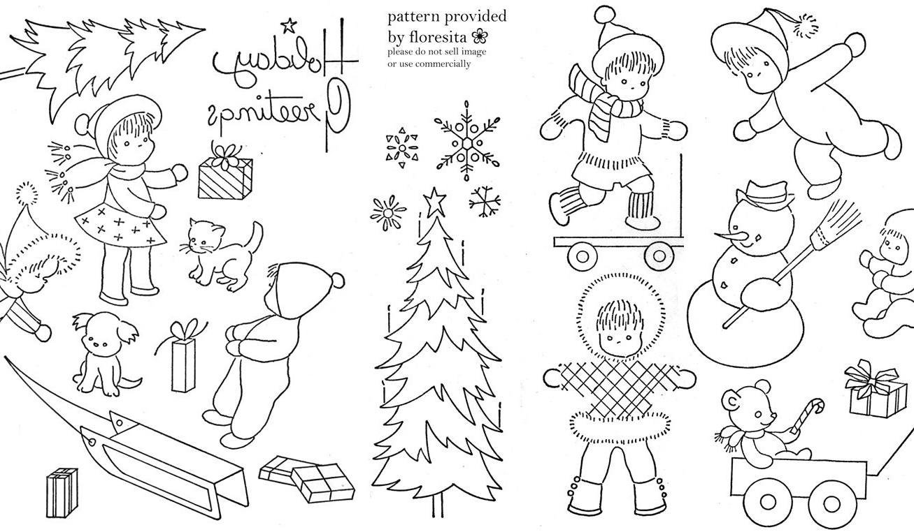 Vintage Embroidery Patterns Awesome Design Ideas