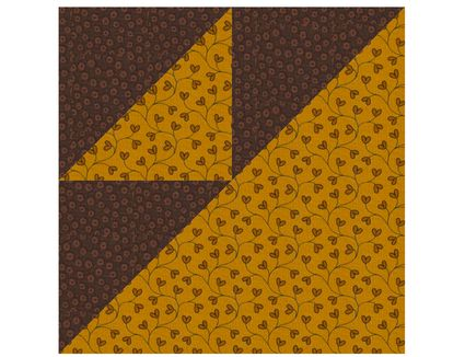 School Girl S Puzzle Quilt Block Pattern