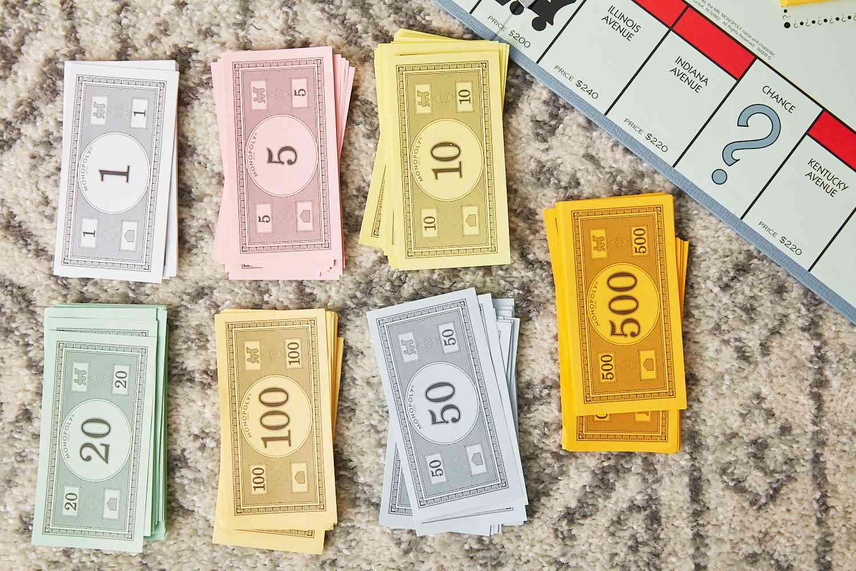 money by denomination