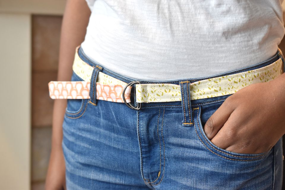 How to Sew a Double-Sided Belt