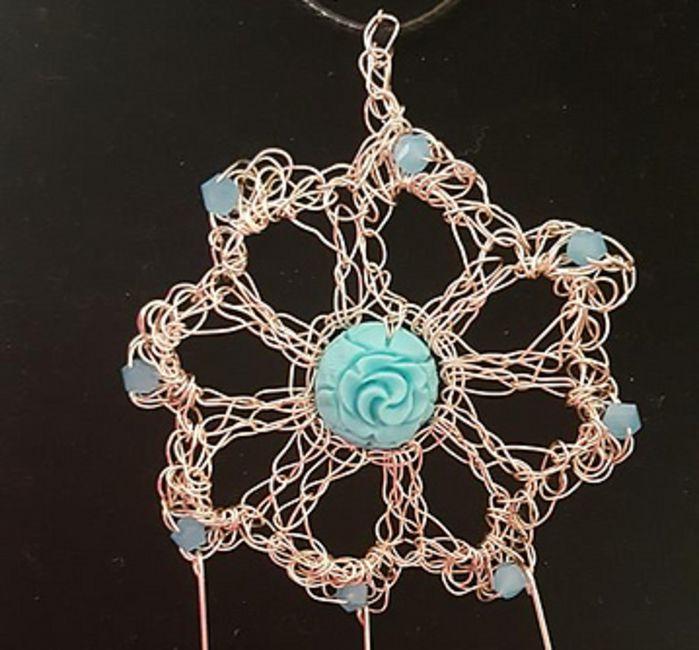 Crochet Flower Earrings Free Pattern Flowers Healthy