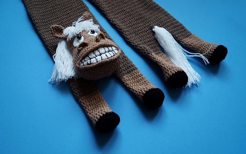 Crochet Hrose Scarf Pattern