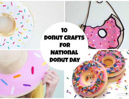 donut day crafts