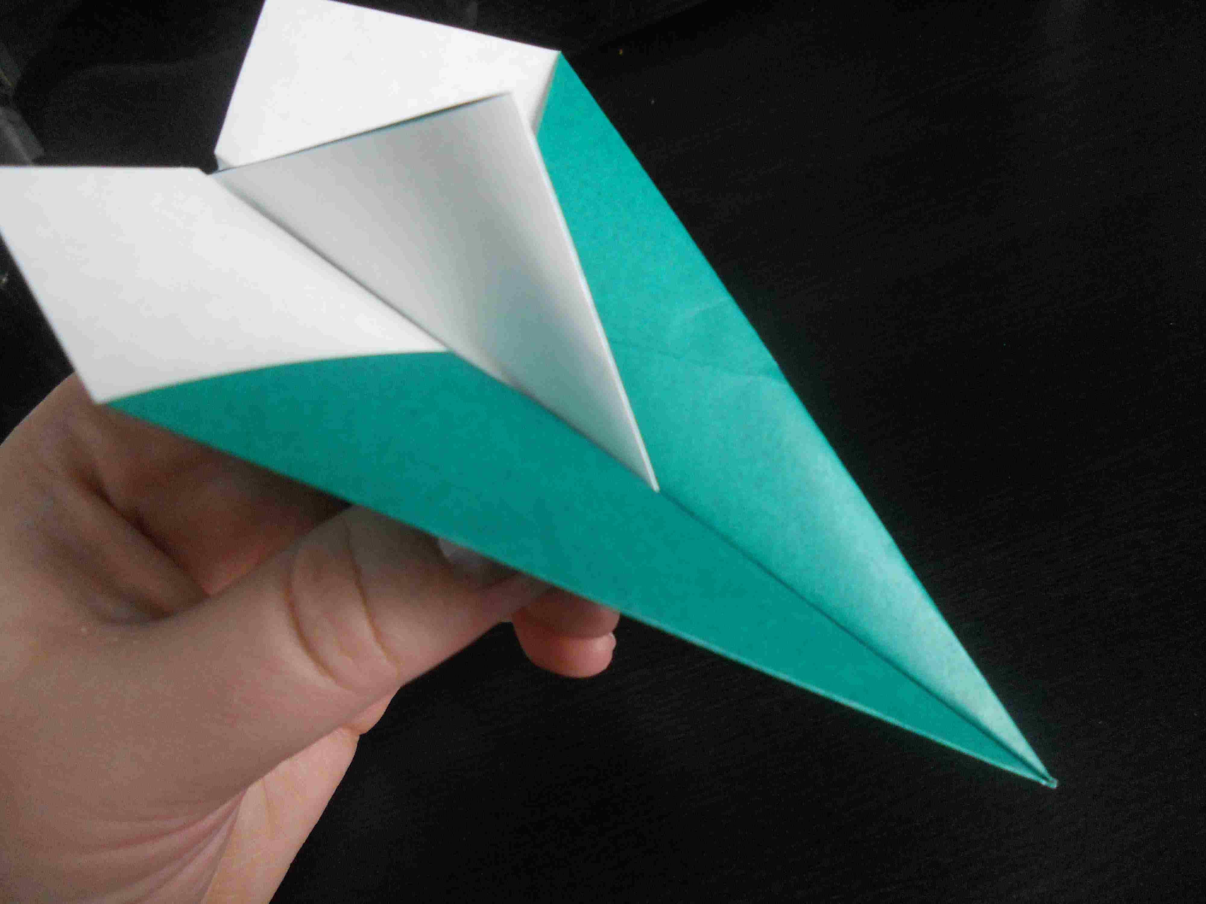 simple paper airplane