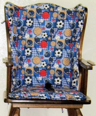 Sew Your Own Highchair Seat Cushion