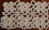 Crochet Lace Flower Motif