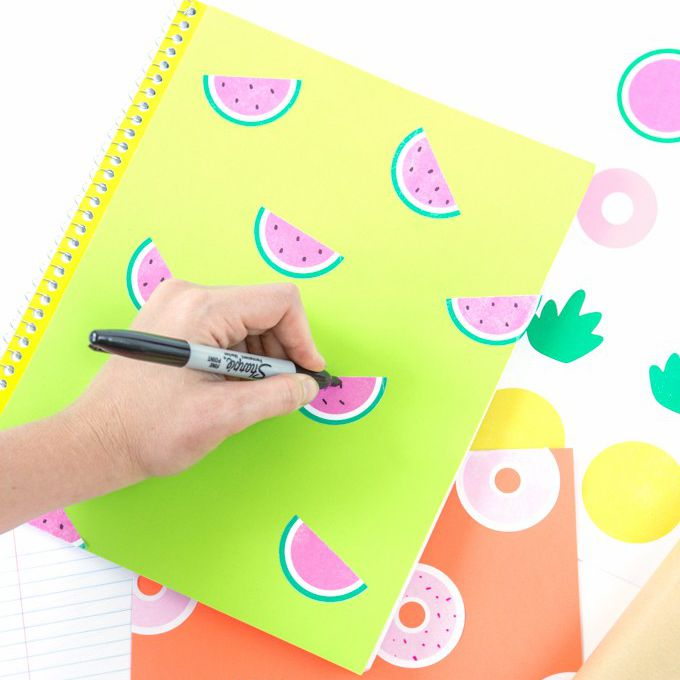 printable notebook stickers