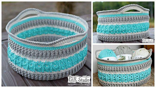 Crochet Basket Free Pattern