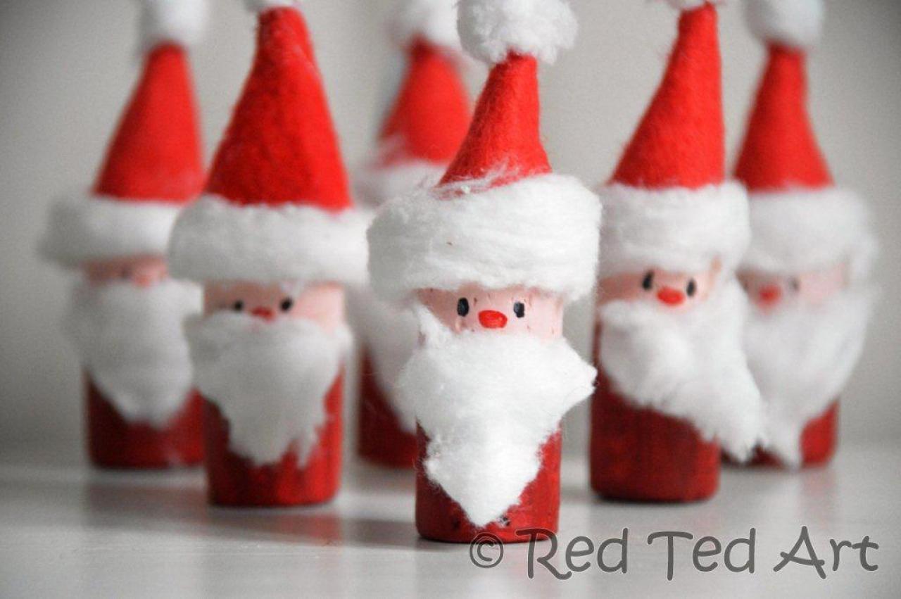 Cork Santa