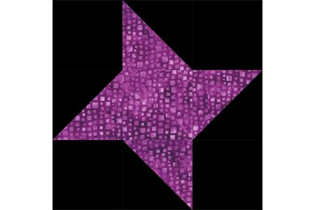 Easy Friendship Star Quilt Block Pattern Extraordinary 12 Inch Quilt Block Patterns