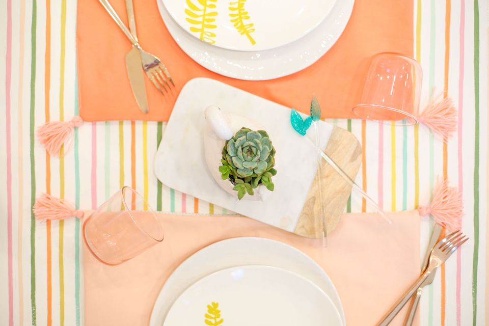 tassel placemats