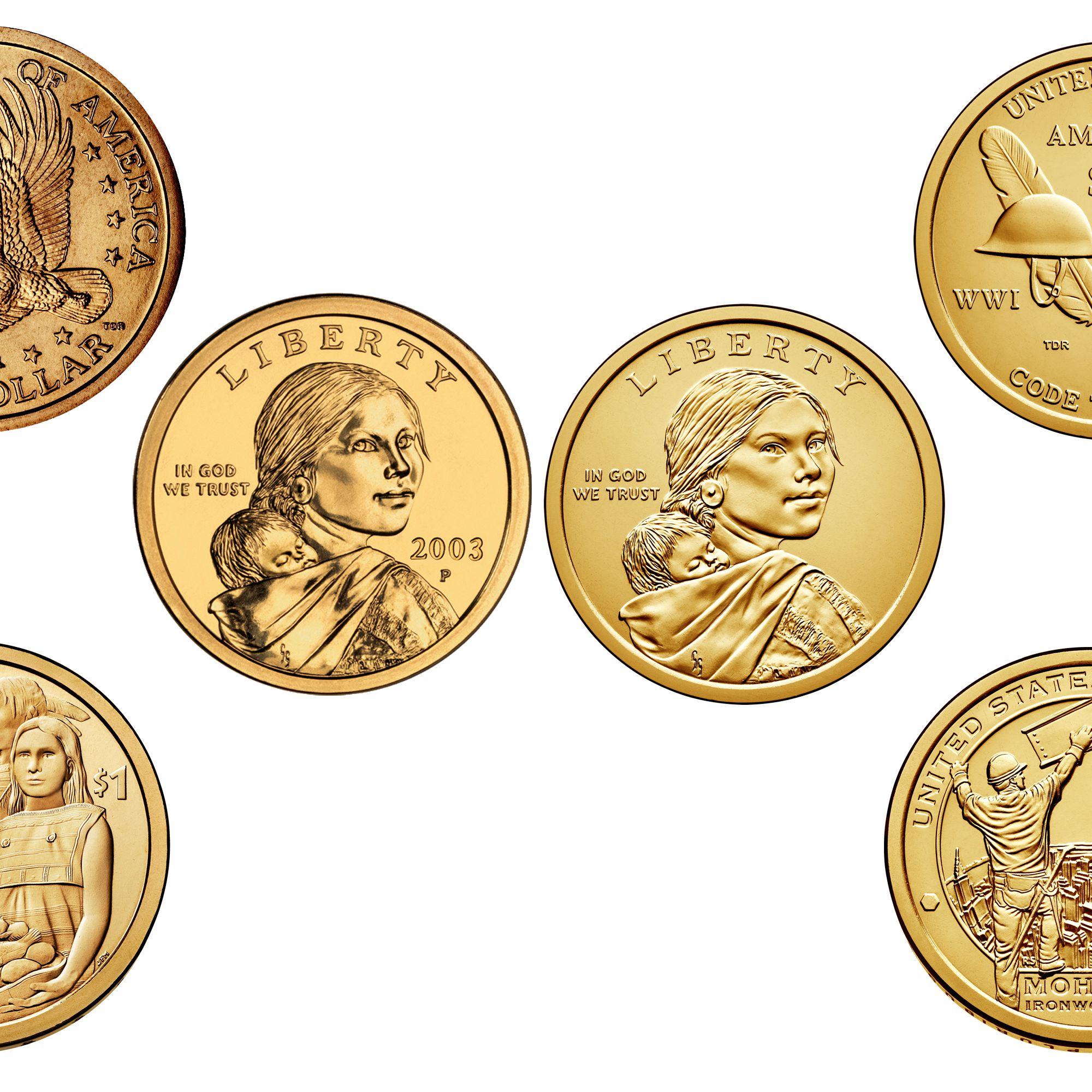 Sacagawea One Dollar Coin Values
