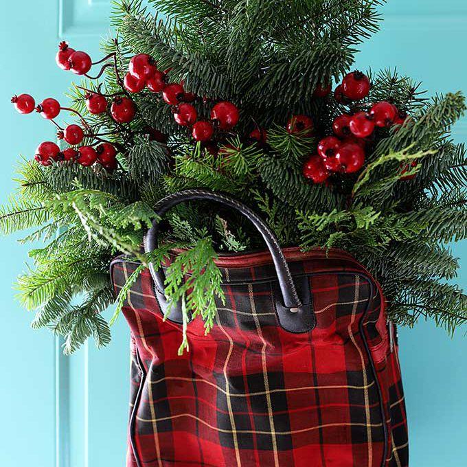 christmas door hanger diy