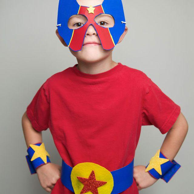 diy superhero costume idea